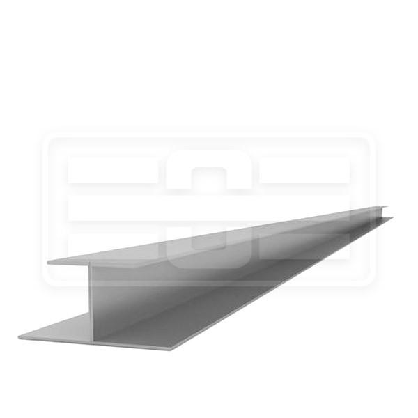 Doppel-T-Zwischenblende grau